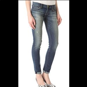 Current Elliot The Rolled Skinny Jeans Wager 25